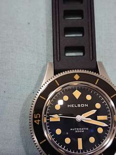 Jam Helson Skindiver automatic Watch