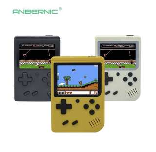Retro mini portable handheld console players ( colour: white/ black )