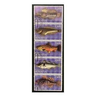 Buriatia Republica 俄羅斯的一個自治共和國紀念郵票