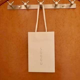 Suqqu 名牌紙袋 Paper Bag Gift Bag