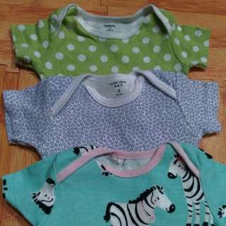 3pcs jumper baby 0-6months