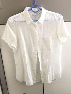 H&M 短袖襯衫