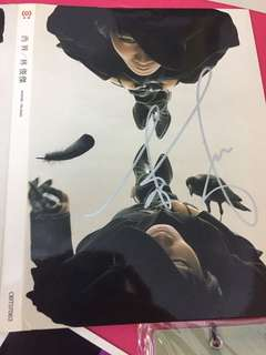 JJ Lin Autographed West side Cd from Taiwan with free JJ gift