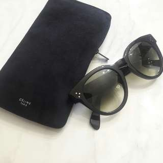 Celine Preppy Sunglasses in Black