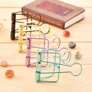 [IN] [ACC] Metallic Binder Clips (Small)