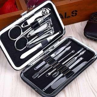 🚚 12pcs Stainless Steel Pedicure/Manicure Set