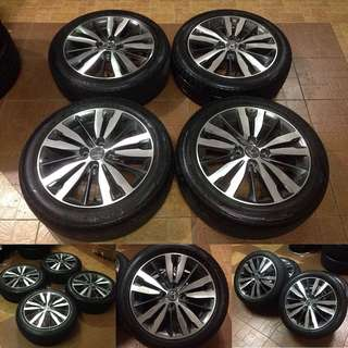 Rim oem honda jazz gk5 full spec 16