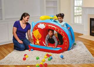 BN Fisher-Price Helicopter Inflatable Ball Pit