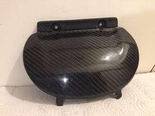 CUXI100-大液晶版專用-碳纖維包覆電池外蓋-MOS出品-二手良品