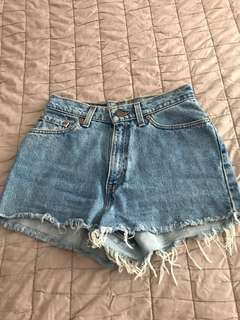 Levi's High-waisted Shorts