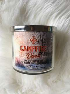 BESTSELLER Campfire Donut Candle