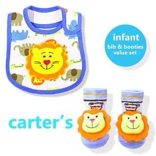 Carters Infant Bibs & Booties