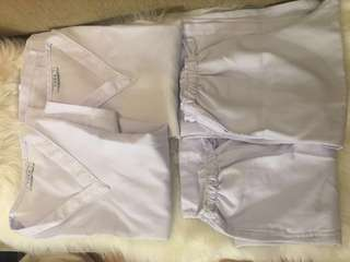 TAKE ALL Nurse or white uniform L-XL