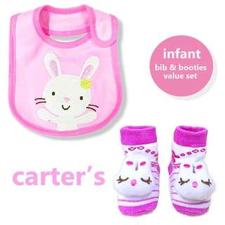 Carter's Infant Bib & Booties