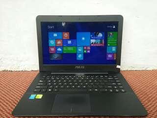 Moster Gaming Asus X455L Core i5 Ram Vga  Nvdia Geforce 820M Siap Pakai Bnget!!