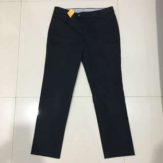 Uniqlo Slim Cotton On Trousers Crop