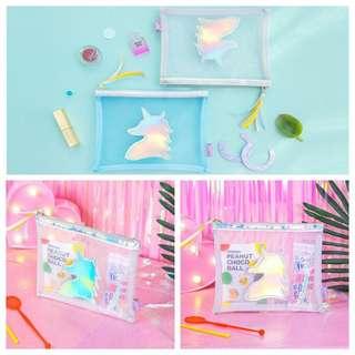 Unicorn makeup pouch / pencilcase
