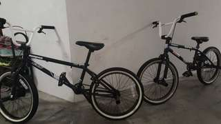 Mongoose stunt bicycle for juniors
