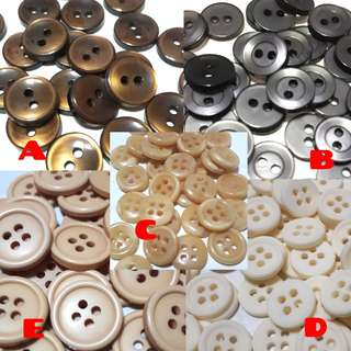 Buttons for Fashion/Craft