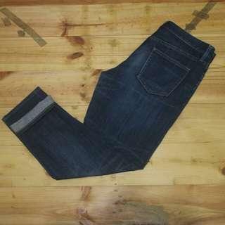 uniqlo jeans slim fit boyfriend original