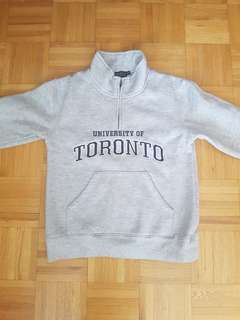 University of Toronto Sweater with thick lining