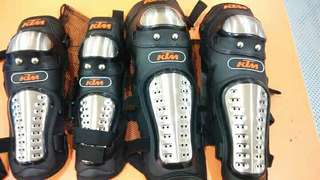 KTM Alloy Elbow & Knee Pads