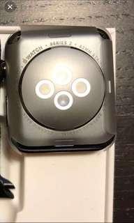 全新 黑不鏽鋼 Apple Watch 42mm S2 GPS Black stainless steel