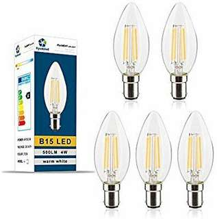 B15 C35 LED Filament Bulbs