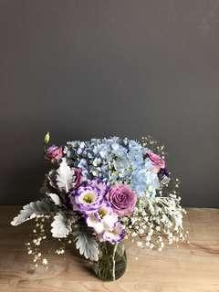 Hydrangea Bouquet or Vase