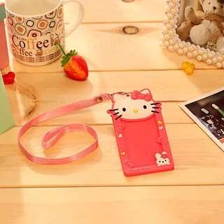 Hello Kitty card holder lanyard