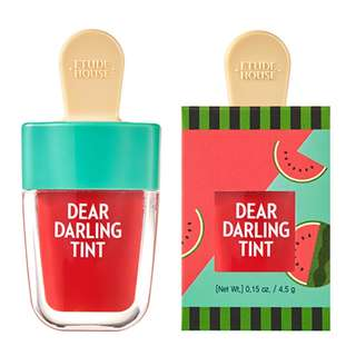 Etude House Dear Darling Water Gel Tint in Watermelon Red (BRAND NEW! SEALED!)