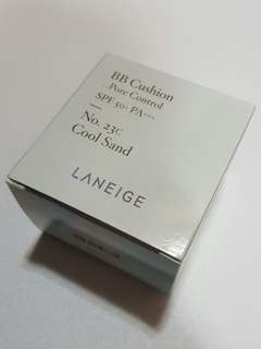 BNIB Laneige BB Cushion Pore Control Refill in N.o 23C Cool Sand