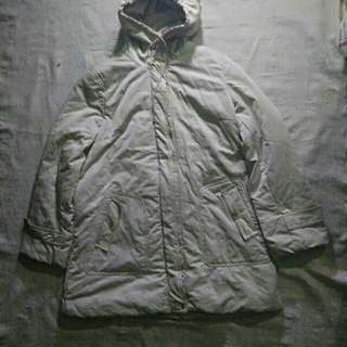 COAT JACKET WINTER SILVER COACH