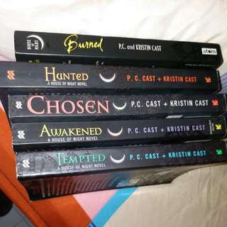 House of Night series teen reading  books