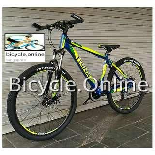 "Trinx 26"" Aluminium MTB / Mountain Bikes ✩ Shimano 21 Speeds, Disc brakes, Front suspension ✩ Brand new bicycles"
