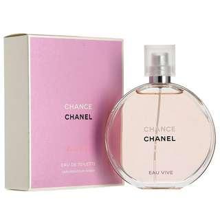 Chanel Chance Eau de Parfum Spray 100mL