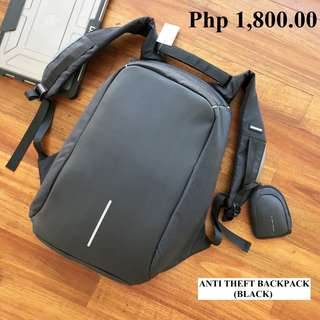 Anti Theft Backpack (BLACK) - BRAND NEW