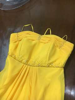 Long gown (Yellow)