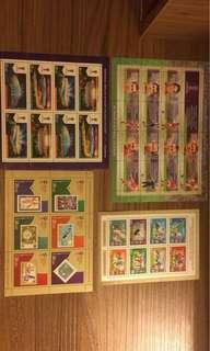 俄羅斯世界杯紀念郵票7張 (只有一套)