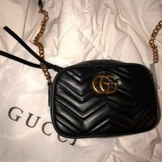 Gucci marmont should've bag