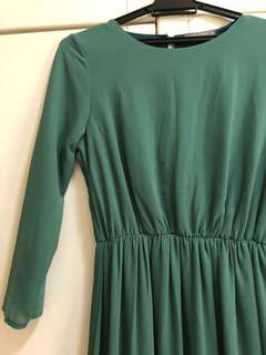 Poplook Poppy Dress Green size S Great Condition