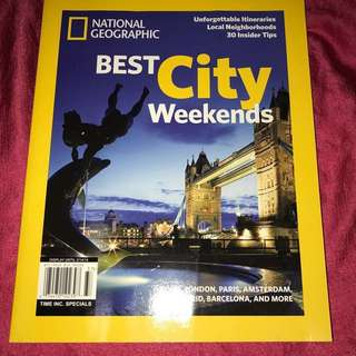 Rp$9-🆕Nat Geo Best City Weekends