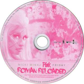 original CD Nicki Minaj Pink Friday Reloaded