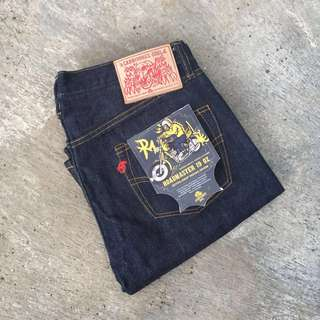 Carnivores Soul Roadmaster 19oz Raw Denim Selvedge