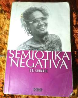 Buku Semiotika negativa