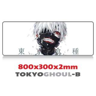 TOKYO GHOUL-B 8030 Extra Large Mousepad Anti-Slip Gaming Office Desktop Coffee Dining Tabletop Decorative Mat