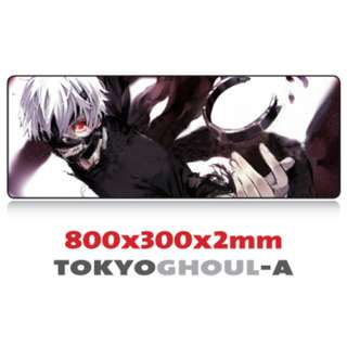 TOKYO GHOUL-A 8030 Extra Large Mousepad Anti-Slip Gaming Office Desktop Coffee Dining Tabletop Decorative Mat