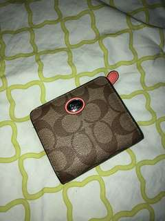 Coach - Monogram Small Wallet