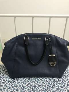 Preloved MK Riley Satchel Medium Handbag