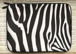 Zebra Print Laptop/Tablet Sleeve Bag
